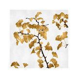 Ginko in Gold I Giclee Print by Kate Bennett