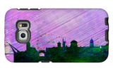 Dublin City Skyline Galaxy S6 Edge Case by  NaxArt