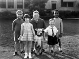 Serie Televisee Les Petites Canailles Little Rascals, C. 1930 Photo