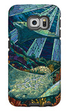 Rays - Paper Mosaic Galaxy S6 Edge Case by  Lantern Press