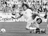 Football World Cup 1982 in Spain: France Team Vs Czechoslovakia Team Poster