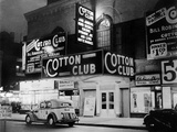 The Cotton Club in Harlem (New York) in 1938 Photographie