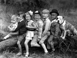 Series the Little Rascals/Our Gang Comedies C. 1932 Foto