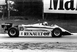Grand Prix of Belgium May 9, 1982 : Alain Prost Driving a Renault Photo