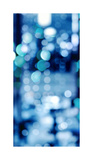 Brilliant Blue Triptych II Giclee Print by Kate Carrigan