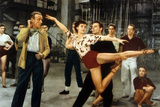 Tous En Scene the Band Wagon De Vincente Minnelli Avec Cyd Charisse, Fred Astaire, 1953 Photo