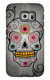 Sugar Skull Galaxy S6 Edge Case by  Lantern Press