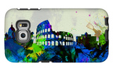 Rome City Skyline Galaxy S6 Edge Case by  NaxArt