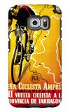 Bicycle Racing Promotion Galaxy S6 Edge Case by  Lantern Press