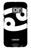Cancer Zodiac Sign White Galaxy S6 Edge Case by  NaxArt