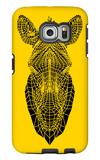 Yellow Zebra Mesh Galaxy S6 Edge Case by Lisa Kroll