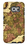 Ireland - Panoramic Map Galaxy S6 Edge Case by  Lantern Press