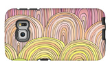 Colorful Circle Modern Abstract Design Pattern Galaxy S6 Edge Case by  Melindula