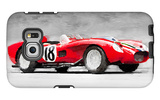 1957 Ferrari Testarossa Watercolor Galaxy S6 Edge Case by  NaxArt