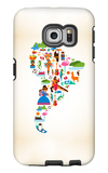 South America Love Galaxy S6 Edge Case by  Marish