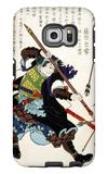 Ronin Fending off Arrows, Japanese Wood-Cut Print Galaxy S6 Edge Case by  Lantern Press