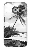 Hawaii - Palms along the Beach Galaxy S6 Edge Case by  Lantern Press