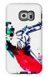 Miles Watercolor Galaxy S6 Edge Case by Lora Feldman
