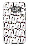 Warm Penguin Pattern Galaxy S6 Edge Case by  Avalisa