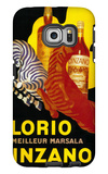 Florio Cinzano Vintage Poster - Europe Galaxy S6 Edge Case by  Lantern Press
