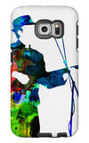 Leonard Watercolor Galaxy S6 Edge Case by Lora Feldman
