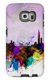 Taipei Watercolor Skyline Galaxy S6 Edge Case by  NaxArt