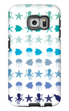 Blue Under the Sea Galaxy S6 Edge Case by  Avalisa