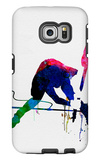 Joe Watercolor Galaxy S6 Edge Case by Lora Feldman