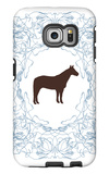 Blue Stallion Galaxy S6 Edge Case by  Avalisa