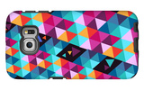Trendy Hipster Geometric Elements Galaxy S6 Edge Case by  cienpies