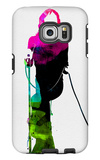 Mick Watercolor Galaxy S6 Edge Case by Lora Feldman