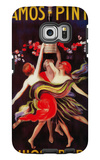 Ramos Pinto Vintage Poster - Europe Galaxy S6 Edge Case by  Lantern Press