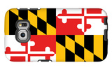 Maryland - State Flag Galaxy S6 Edge Case by  Lantern Press