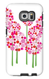 Pink Allium Galaxy S6 Edge Case by  Avalisa