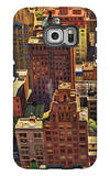 """Bird's-Eye View of New York City,"" August 17, 1946 Galaxy S6 Edge Case by John Falter"