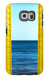 2 Yellow Beach Huts Galaxy S6 Edge Case by Andy Bell