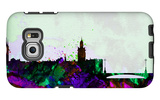 Stockholm City Skyline Galaxy S6 Edge Case by  NaxArt