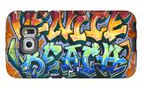Venice Beach, California - Graffiti Galaxy S6 Edge Case by  Lantern Press