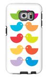 Rainbow Kiss Galaxy S6 Edge Case by  Avalisa