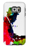 Thelonious Watercolor Galaxy S6 Edge Case by Lora Feldman