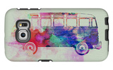VW Bus Watercolor Galaxy S6 Edge Case by  NaxArt