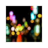 Night Lights Giclée-Druck von Kate Carrigan