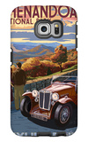 Shenandoah National Park, Virginia - Skyline Drive Galaxy S6 Edge Case by  Lantern Press