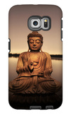 Golden Buddha Lakeside Galaxy S6 Edge Case by Jan Lakey