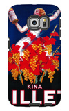 Kina Lillet Vintage Poster - Europe Galaxy S6 Edge Case by  Lantern Press