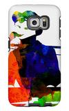 Stevie Watercolor Galaxy S6 Edge Case by Lora Feldman
