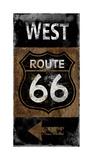Route 66 West Giclee Print by Luke Wilson