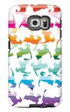 Sunset Kittens Galaxy S6 Edge Case by  Avalisa