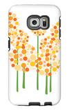 Orange Alliums Galaxy S6 Edge Case by  Avalisa