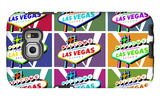 Las Vegas, Nevada - Welcome Sign Pop Art Galaxy S6 Edge Case by  Lantern Press